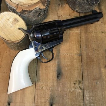 "TRADITIONS 1873 FRONTIER 45 LC 5.5"" STL WHT GRIP"