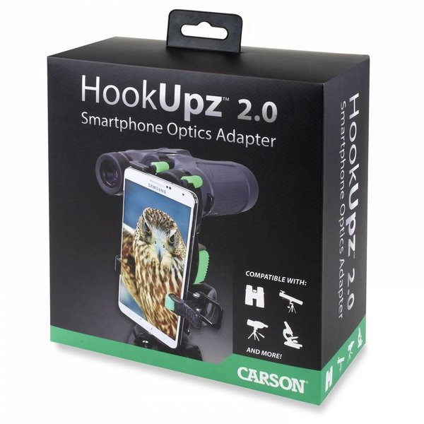 CARSON HOOKUPZ 2.0 IS-200 SMARTPHONE OPTICS ADAPTER