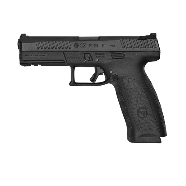 "CZ P-10F 9MM 4.5"" BBL BLACK 10RD"