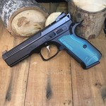 CZ 75 SHADOW 2 BLUE GRIP OPTICS READY