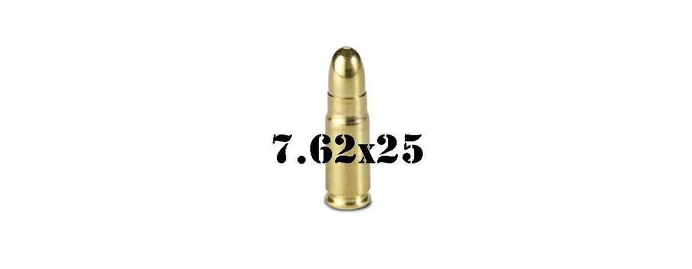 7.62 x 25mm Tokarev