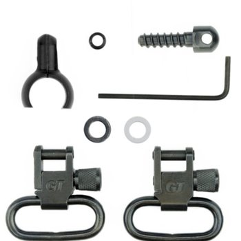 "GROVTEC .585-.635 1"" LOOP 2PC BARREL BAND SWIVEL SET"