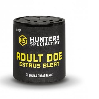 HUNTERS SPECIALTIES ADULT DOE ESTRUS BLEAT