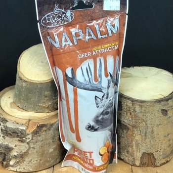 BUCK BOMB NAPALM LIQUID ATTRACTANT CONCENTRATE-SWEET POTATO FLAVOUR
