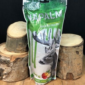 BUCK BOMB NAPALM LIQUID ATTRACTANT CONCENTRATE-APPLE FLAVOUR
