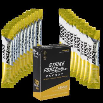 STRIKE FORCE ENERGY BEVERAGE ENHANCER - LEMON