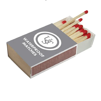UST WATERPROOF MATCHES 4PK