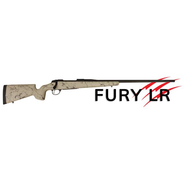 FIERCE FIREARMS FURY LR 7MM TAN & BLACK ARMOR  MUZZLE BRAKE W/ CAP