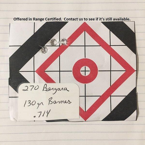 BERGARA B14 HUNTER 270 WIN