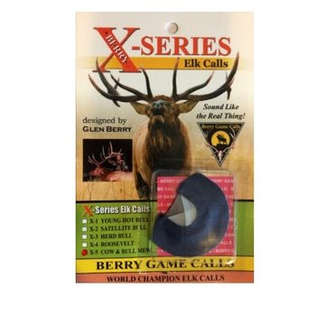 BERRY GAME CALLS X SERIES COW & BULL ELK CALL