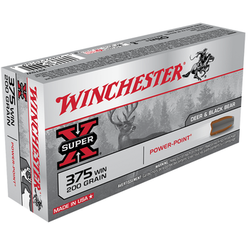 WINCHESTER 375 WIN 200GR POWER POINT 20CT