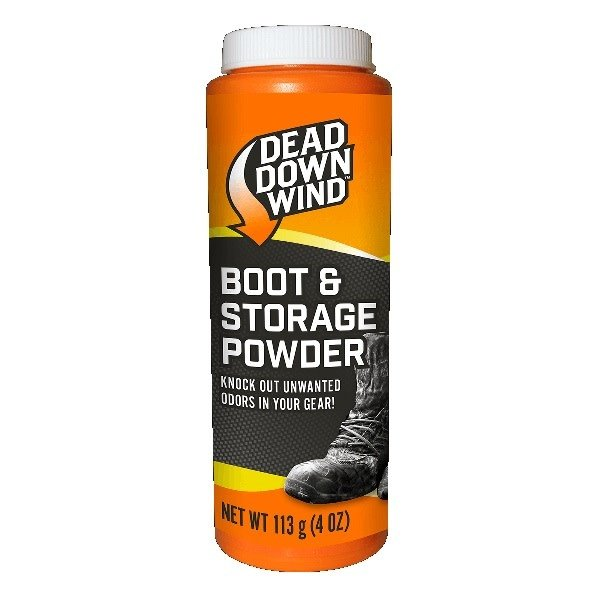 DEAD DOWN WIND BOOT AND STORAGE POWDER