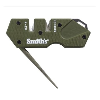 SMITH'S MINI TACTICAL KNIFE SHARPENER - GREEN