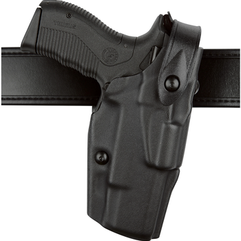 SAFARILAND HOLSTER - MODEL 6360 S&W ALS MID-RIDE LEVEL III RETENTION BLACK