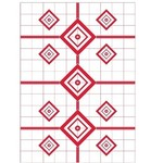 "PRO-SHOT 200 YARD SITE IN RIFLE TARGETS 23"" X 35"" 5PK"