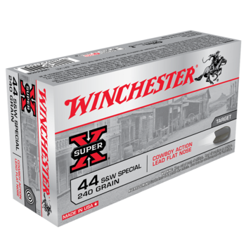 WINCHESTER 44 SPECIAL 240GR LEAD FN