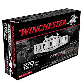 WINCHESTER 270 WIN 140GR ACCUBOND