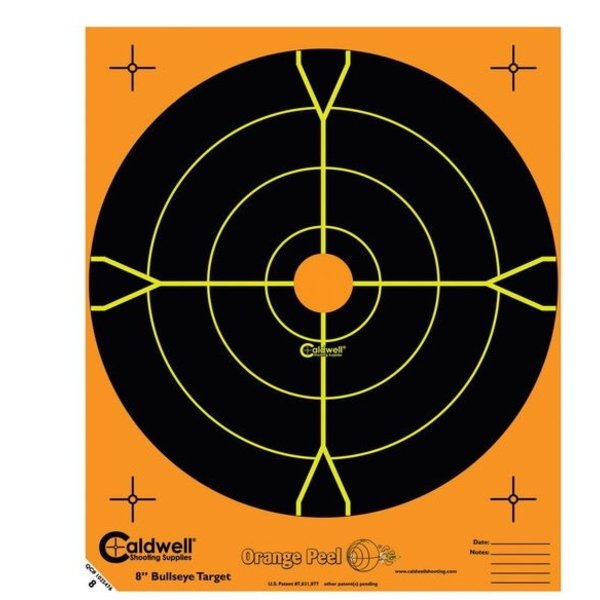"CALDWELL ORANGE PEEL BULLSEYE 2"" 10PK"