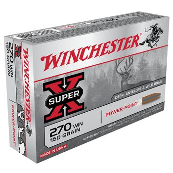WINCHESTER 270 WIN 150GR POWER-PT