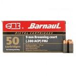 BARNAUL .380 ACP 94GR FMJ,