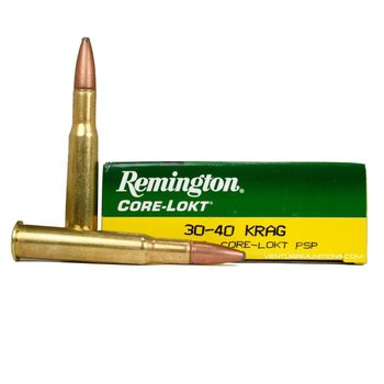 REMINGTON 30-40 KRAG 180GR EXP CORELOKT