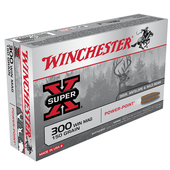WINCHESTER 300 WIN MAG 150GR POWER-PT