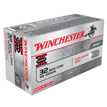 WINCHESTER 32 S&W LONG 98GR 50CT