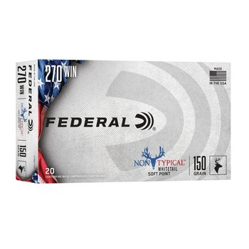 FEDERAL 270 WIN 150GR NON TYPICAL
