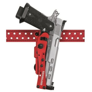 SAFARILAND HOLSTER OPEN CLASS COMP GLOCK G17 G22 RED