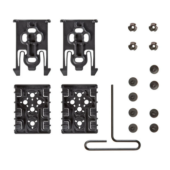 SAFARILAND EQUIPMENT LOCKING ACCESSORY SYSTEM KIT BLACK