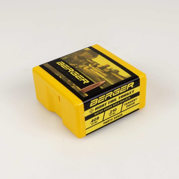 BERGER 6MM 90GR BOAT TAIL TARGET 100CT