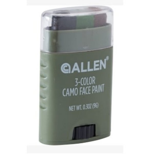 ALLEN 3-COLOR CAMO FACE PAINT