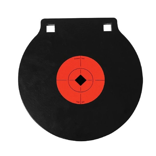 "BIRCHWOOD CASEY 10"" DOUBLE HOLE AR500 GONG"