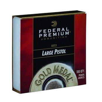 FEDERAL LARGE PISTOL MATCH GOLD MEDAL PRIMER GM150M