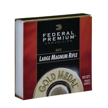 FEDERAL LARGE MATCH MAGNUM RIFLE PRIMER GM215M