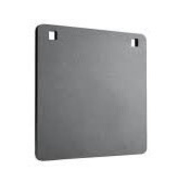 CHAMPION CENTER MASS AR500 8 INCH SQUARE GONG 1/4 INCH