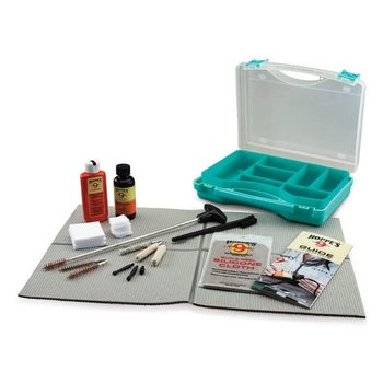 HOPPE'S PISTOL GUN CLEANING ESSENTIALS BLUE KIT
