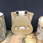 G-CODE POUCH - DOUBLE MAG 1911 RTI FUZZY TAN