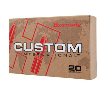 HORNADY 9.3X62MM 286GR CUSTOM 20CT