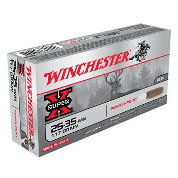 WINCHESTER 25-35 WIN 117GR 20CT