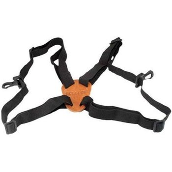 BULLDOG BINO HARNESS ADJUSTABLE BLACK
