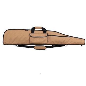 """BULLDOG GUN CASE 55"""" DELUXE LR TAN W/BLK BD375"""