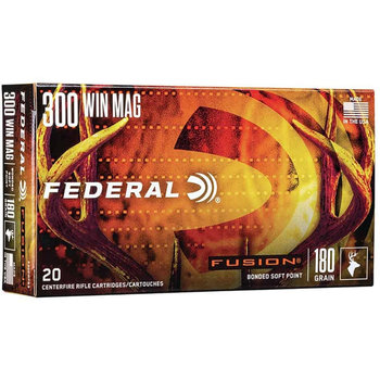FEDERAL 300 WIN 180GR FUSION