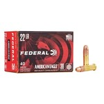 FEDERAL 22LR 38GR COPPER PLATED HP 40CT