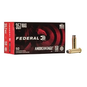FEDERAL AMERICAN EAGLE 357 MAGNUM 158GR