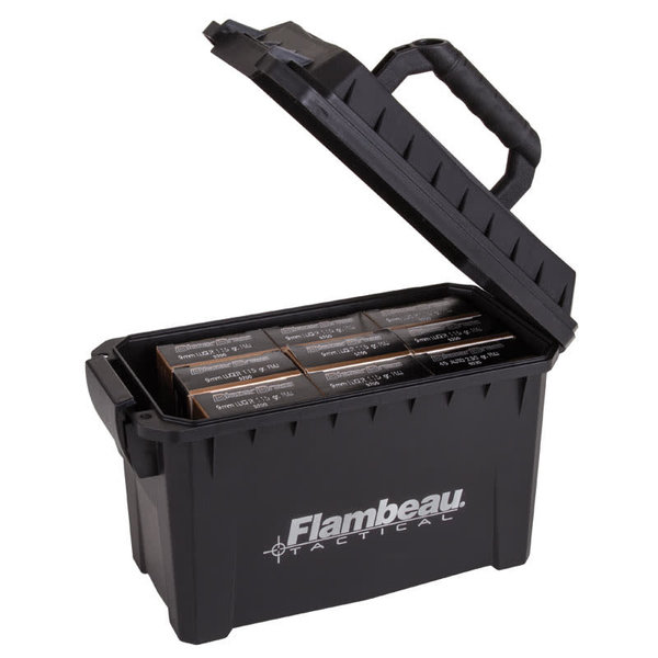 FLAMBEAU OUTDOORS COMPACT TACTICAL AMMO CAN
