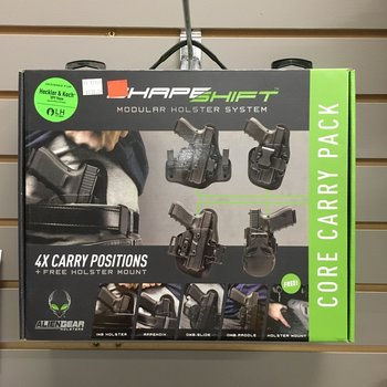 ALIEN GEAR HOLSTER - SHAPESHIFT CORE CARRY PACK H&K VP9 LH