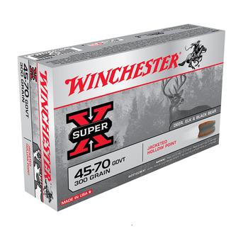 WINCHESTER 45-70 GOVT 300GR JHP 20CT