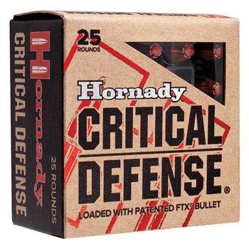 HORNADY 45 COLT 185GR FTX CRITICAL DEFENSE 20CT