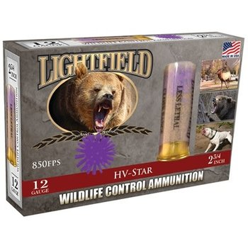 LIGHTFIELD WILDLIFE CONTROL 12GA HV STAR SLUG  2-3/4""